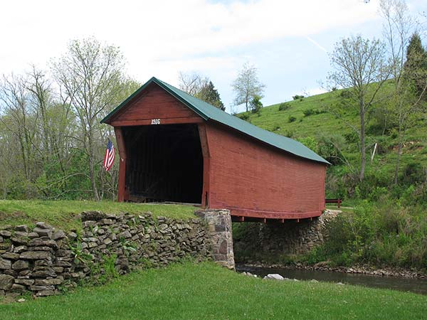 Clover Hollow Covered Bridge